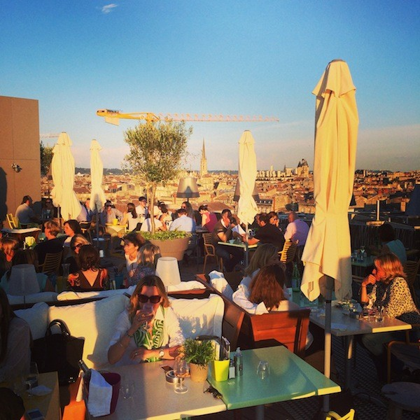 Roof top Mama Shelter Bordeaux