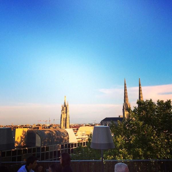 Coucher de soleil rooftop Mama Shelter