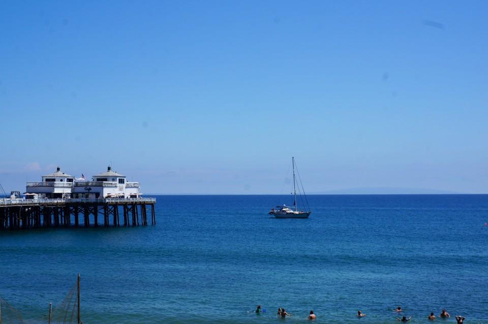 Pier de Malibu Beach
