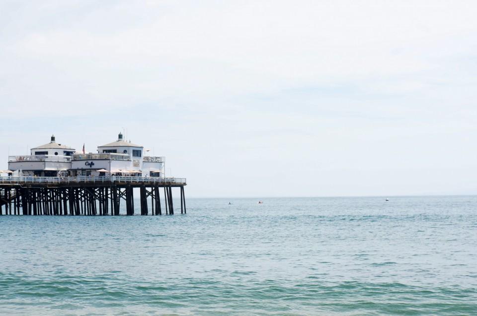 Pier Malibu Beach