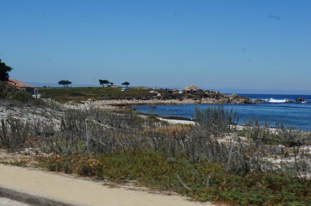 La plage des 17 miles Californie