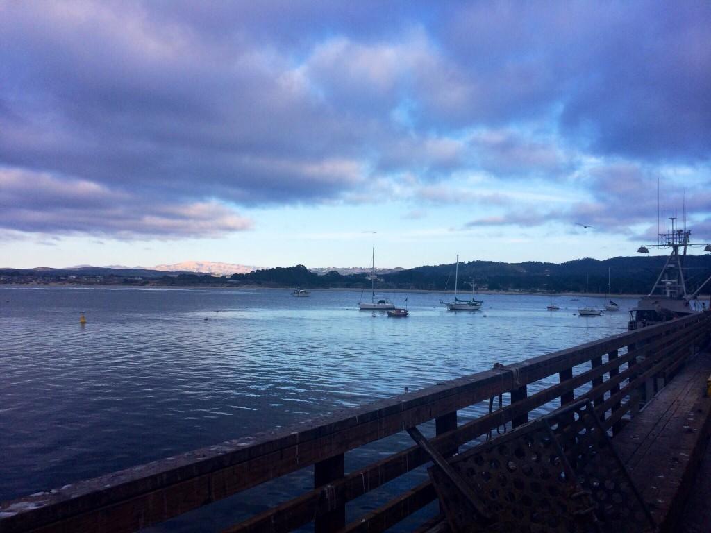 Baie de Monterey depuis le Pier