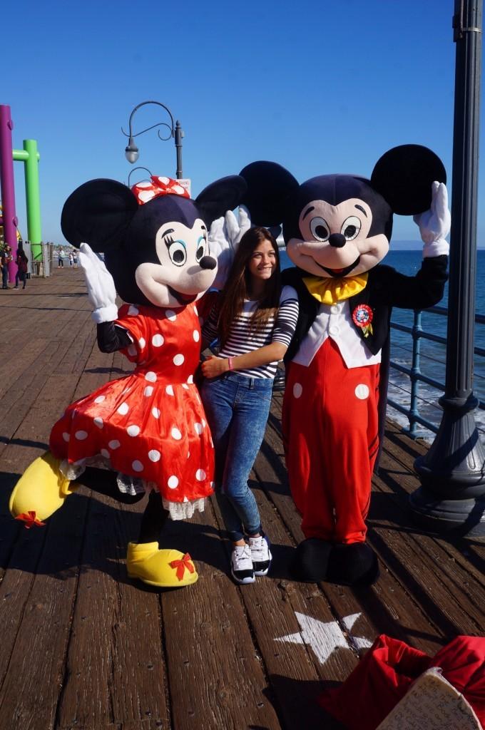 Mickey Pier Santa Monica