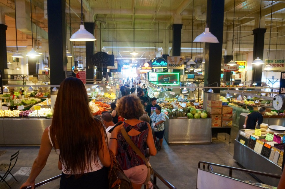 Central market Los Angeles Downtown