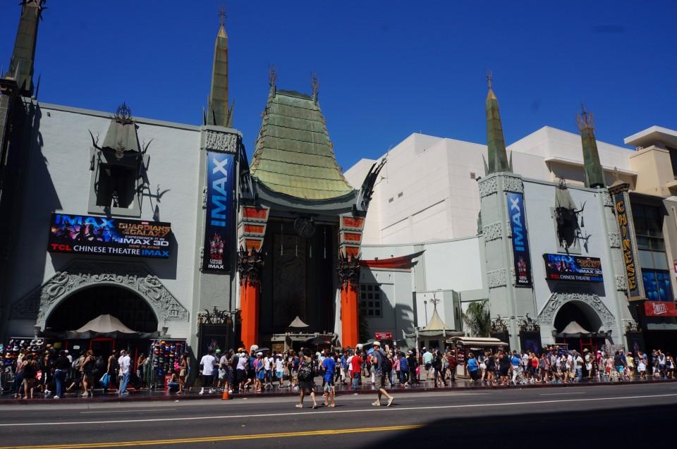 Grauman's Chinese théâtre Los Angeles
