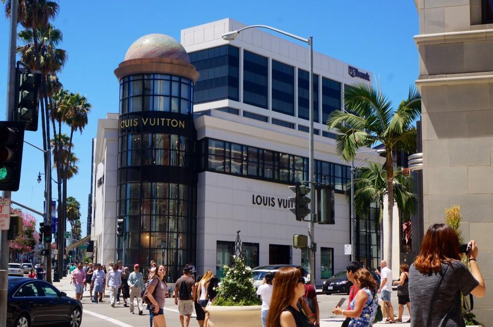 Rodéo drive Louis Vuitton Los Angeles