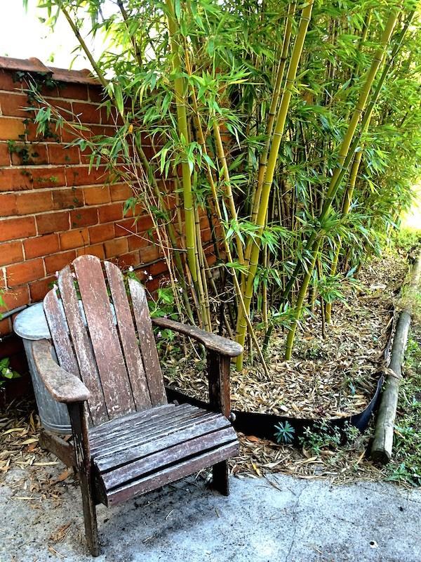 fauteuil en bois