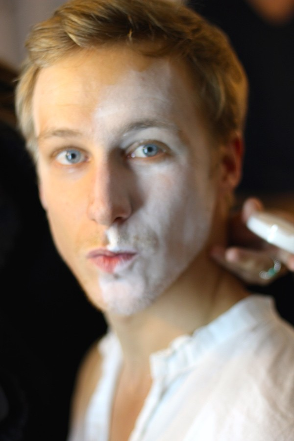 Etape 1 Maquillage Halloween