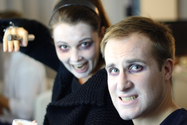 Maquillage mort vivant