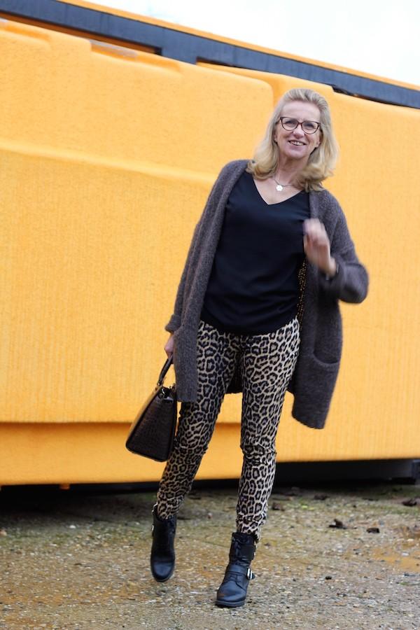 Pantalon Zara panthère