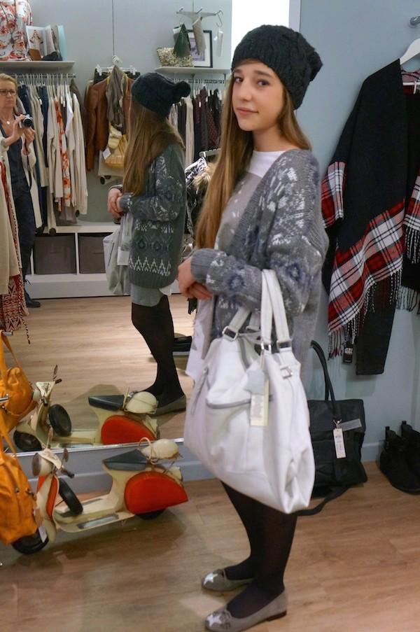 Boutique ADDICT look gris