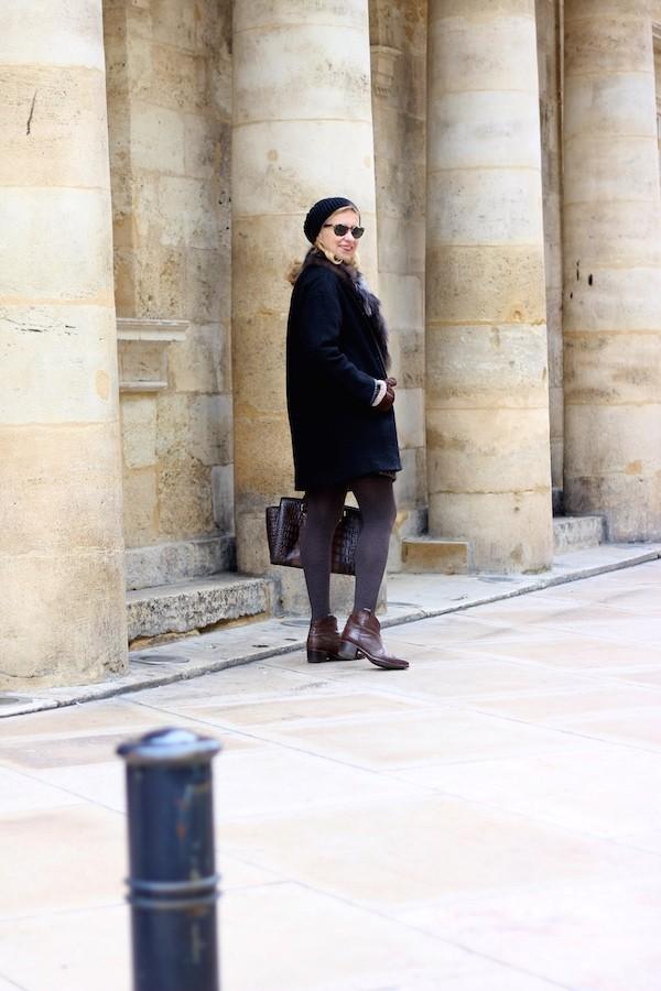 Bonnet et manteau Zara