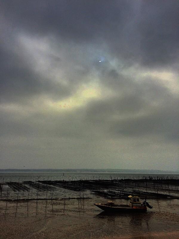 Eclipse le Cap-Ferret 2015