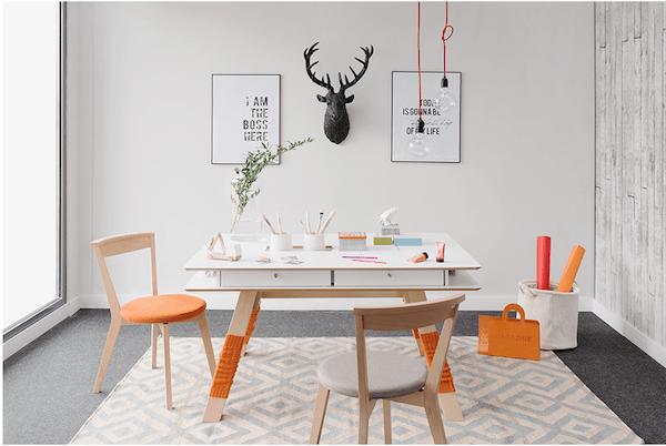 Table colorée Westwing