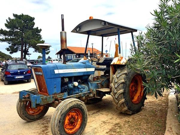 Tracteur Gendarmerie