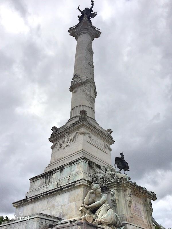 Bordeaux monument aux Girondins