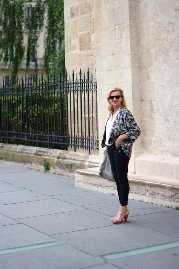 Kimono et slim Zara 2015