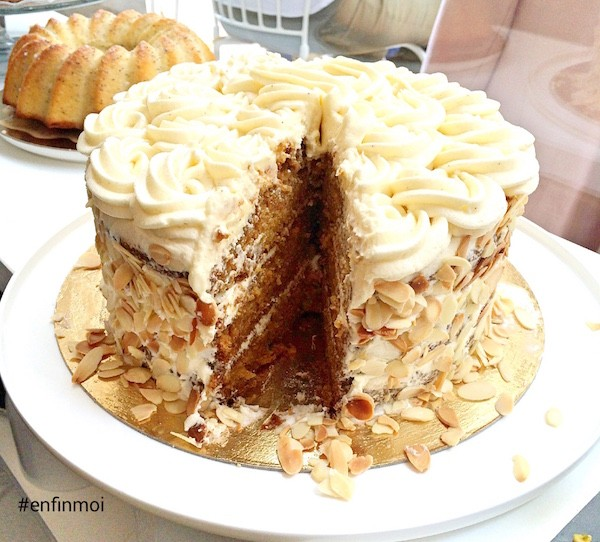 Mona Bordeaux Carrot Cake