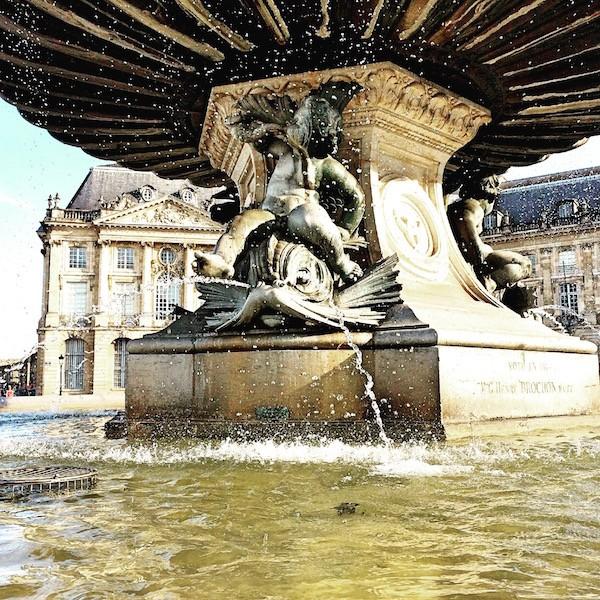15 Fontaines place de la Bourse Bordeaux