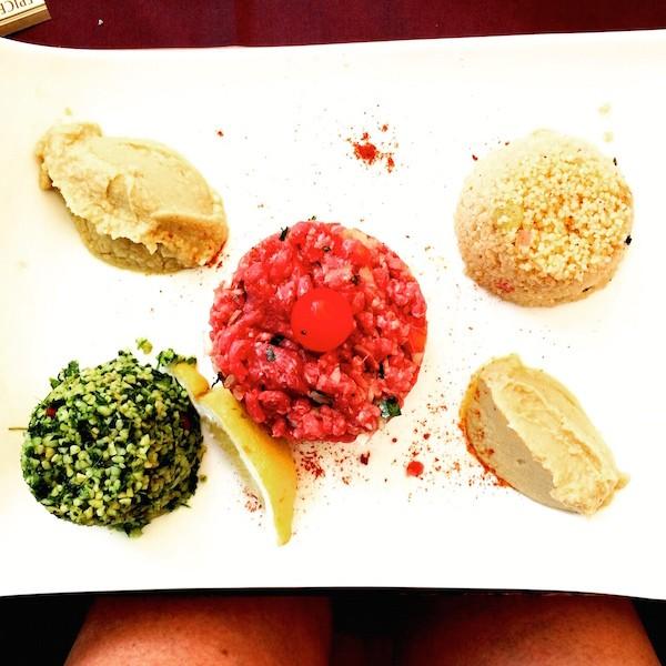 Assiette Libanaise le Jardin Moulleua Village