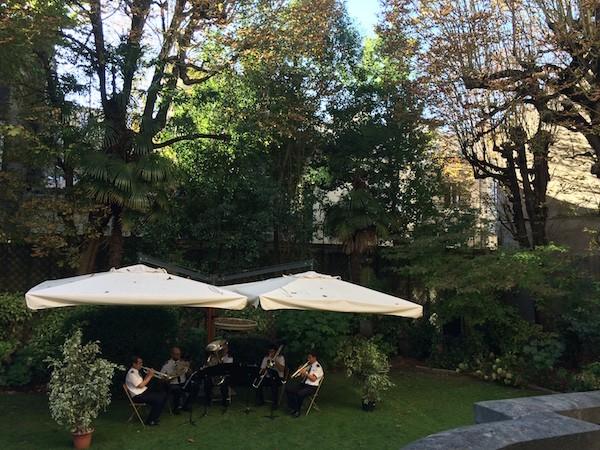 Jardin de l'Hotel des armées Bordeaux