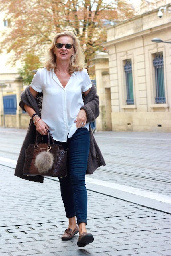 Jeans H&M taille haute
