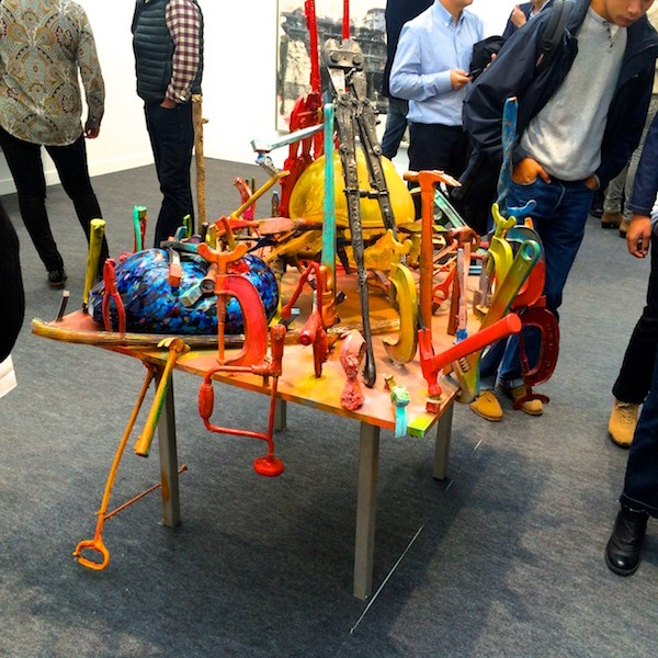 Paris fiac dition 2015 blog enfin moi mode for Fiac 2015 jardin des tuileries