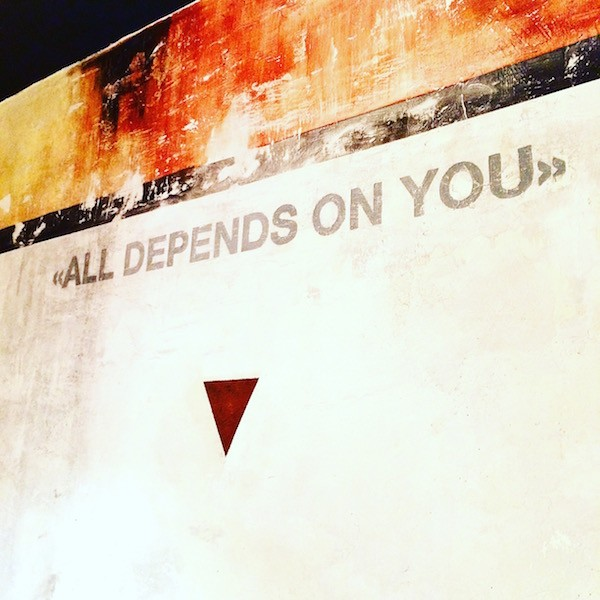 ALL DEPENDS ON YOU