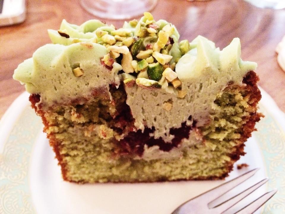 Cake pistache MONA BORDEAUX