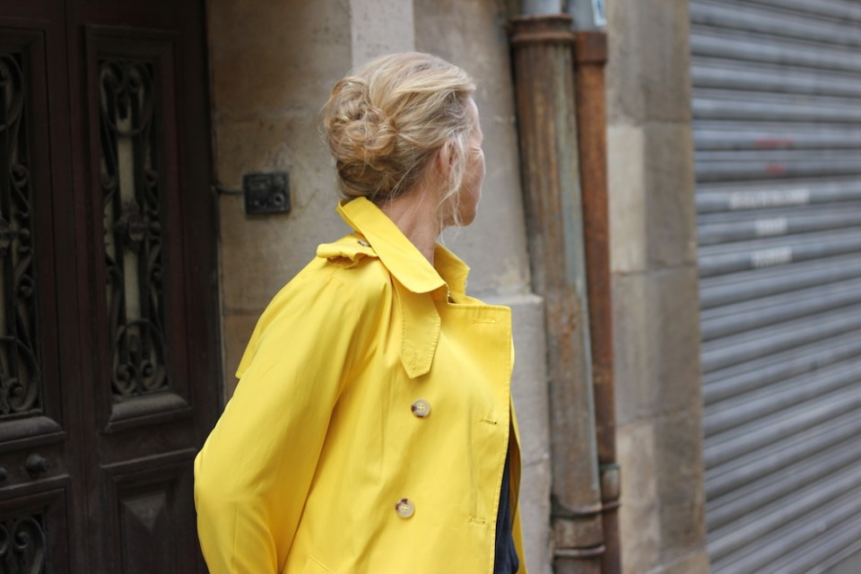 Trench Ralph Lauren jaune