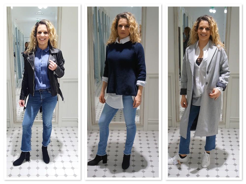 Comment porter le jeans taille haute et bas frangés ?