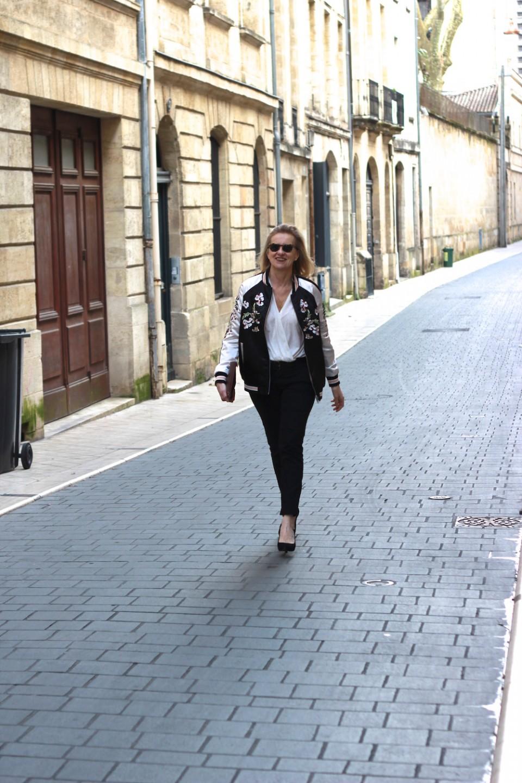 Pantalon noir Zara
