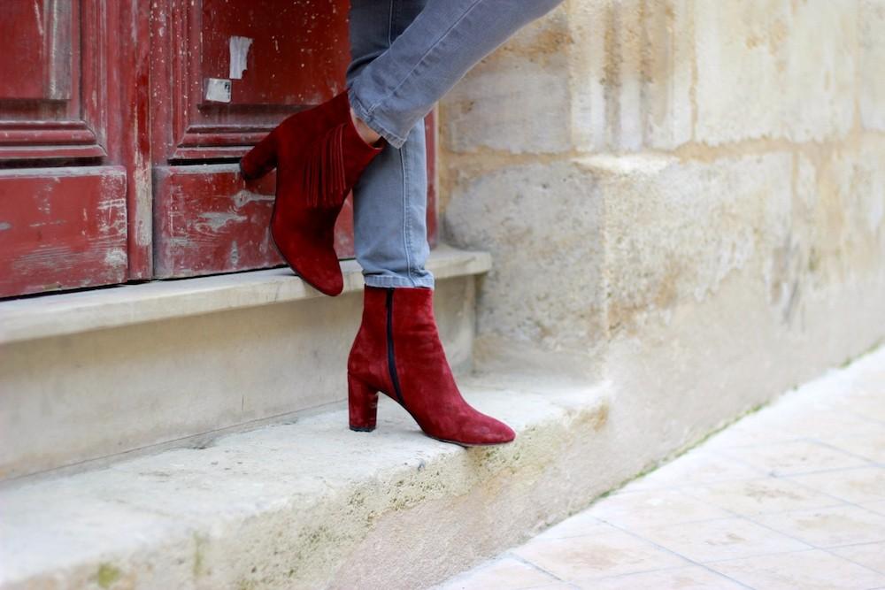 • • Enfin frangésBlog Moi Boots Modelifestyle Bordeaux OiXkuPZT