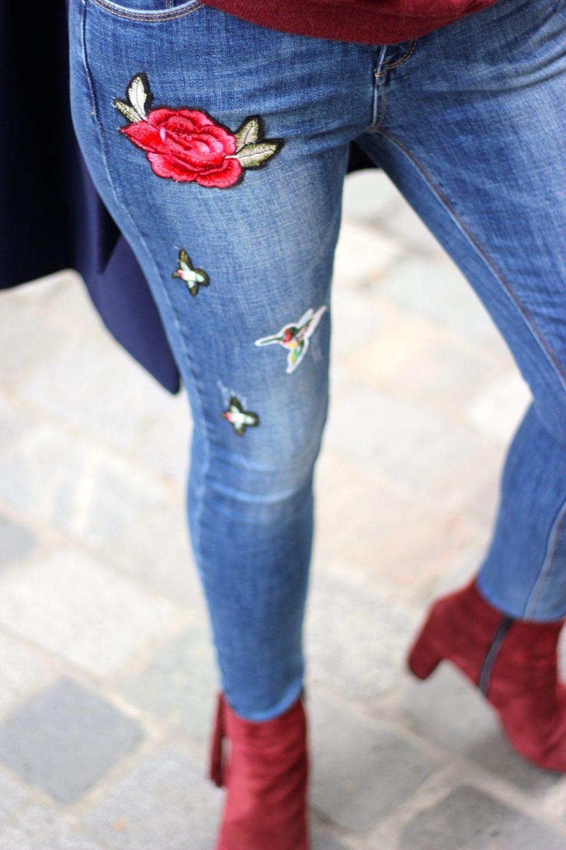 jeans-brode-fleurs-les-sisterettes