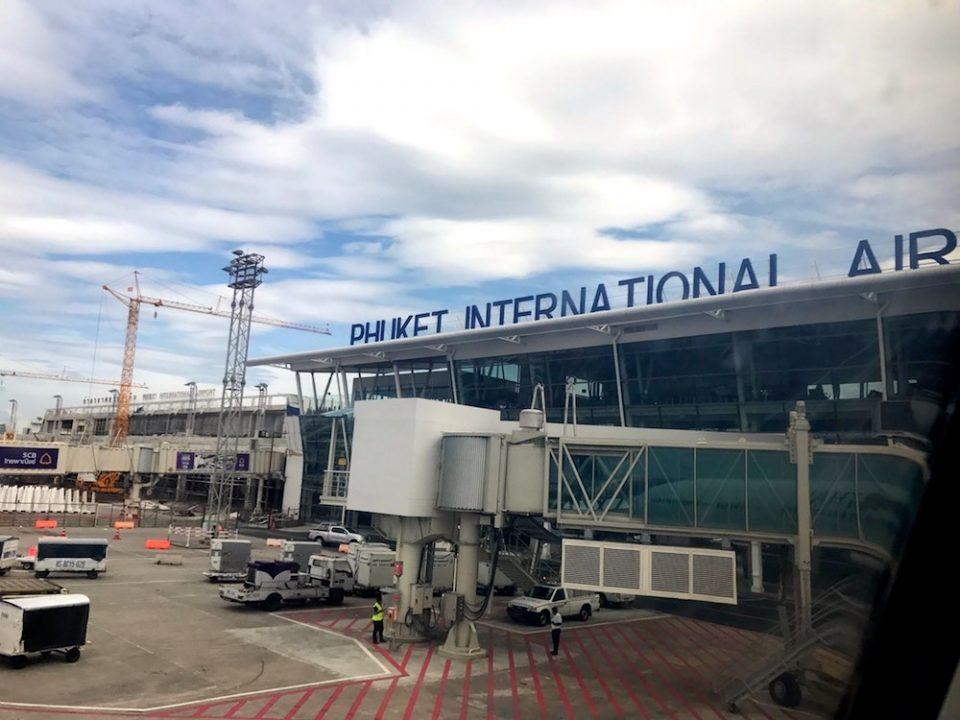AEROPORT PHUKET THAILANDE