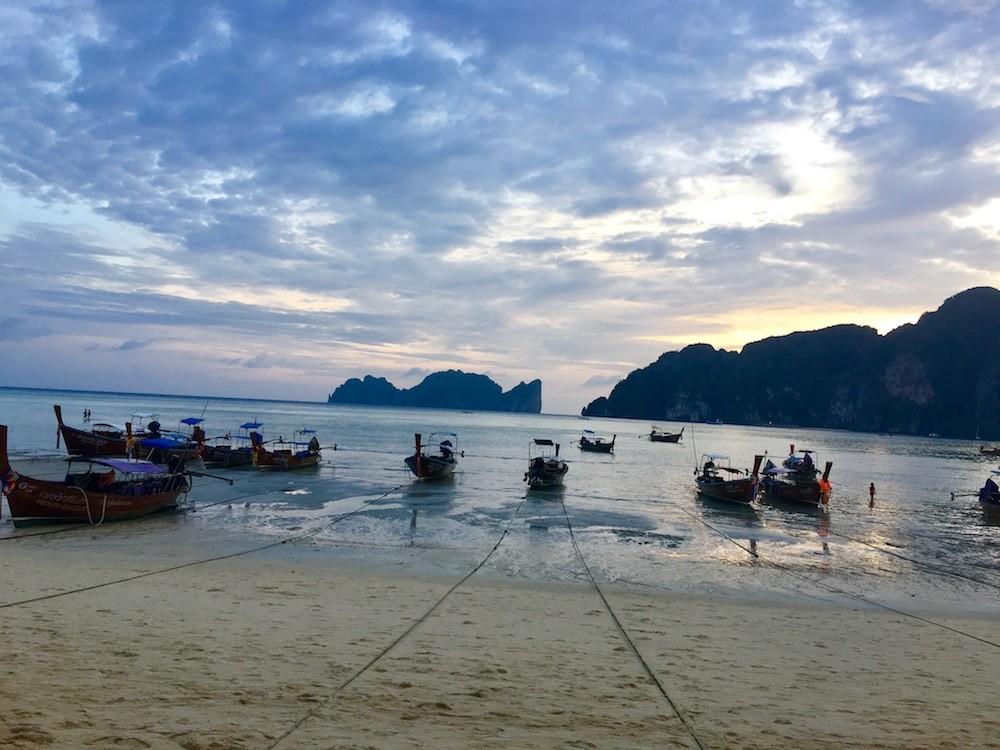 long tails Koh Phi Phi