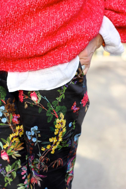 Pantalon Naf Naf fleurs