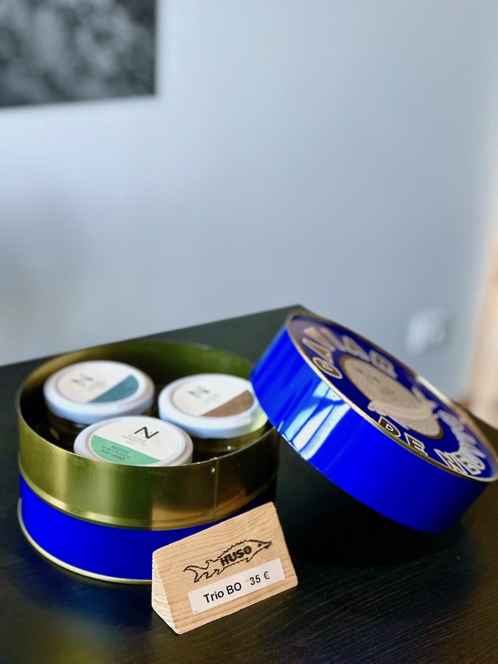 riillettes de caviar de neuvic