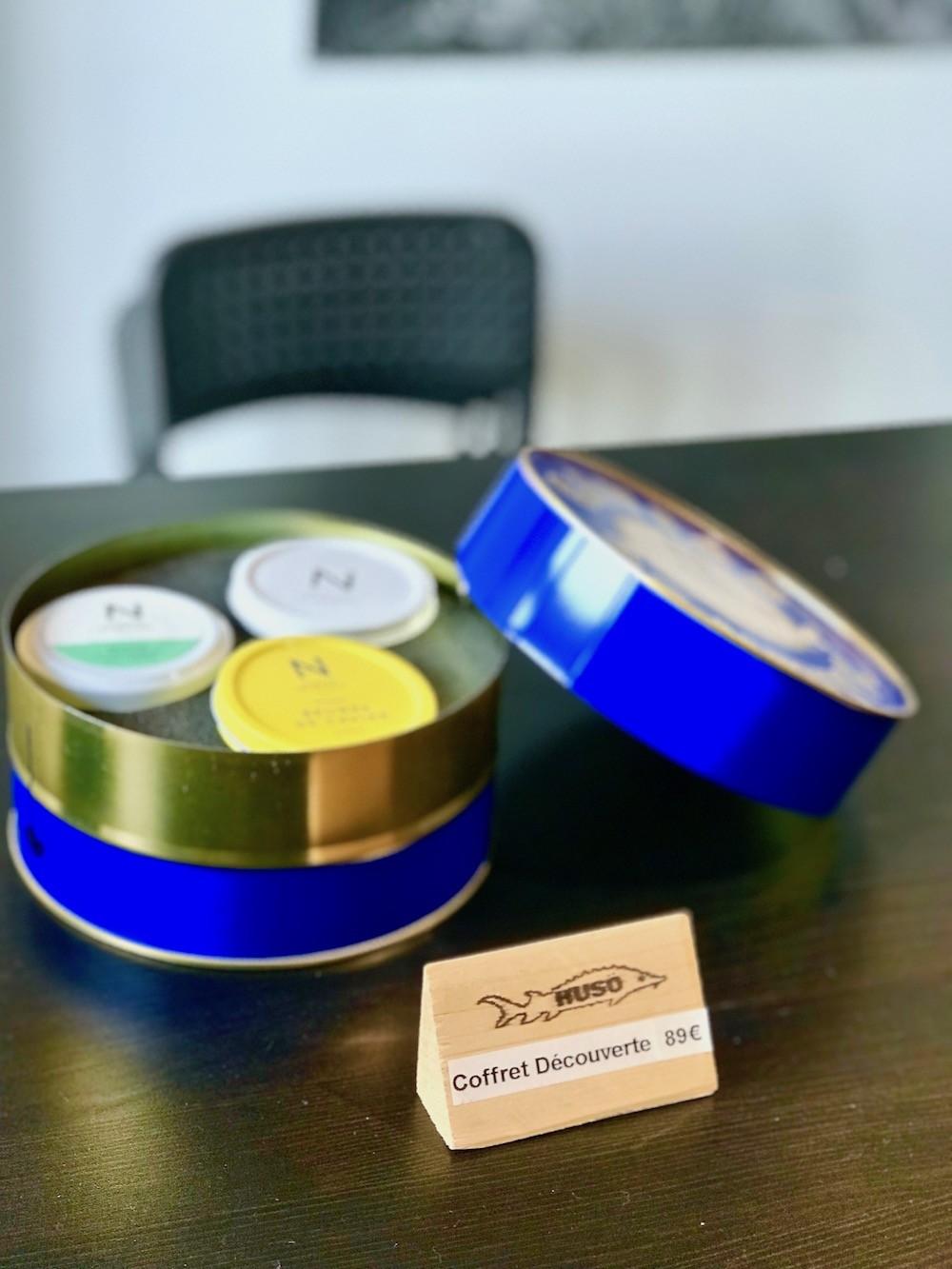 rillettes de caviar de Neuvic
