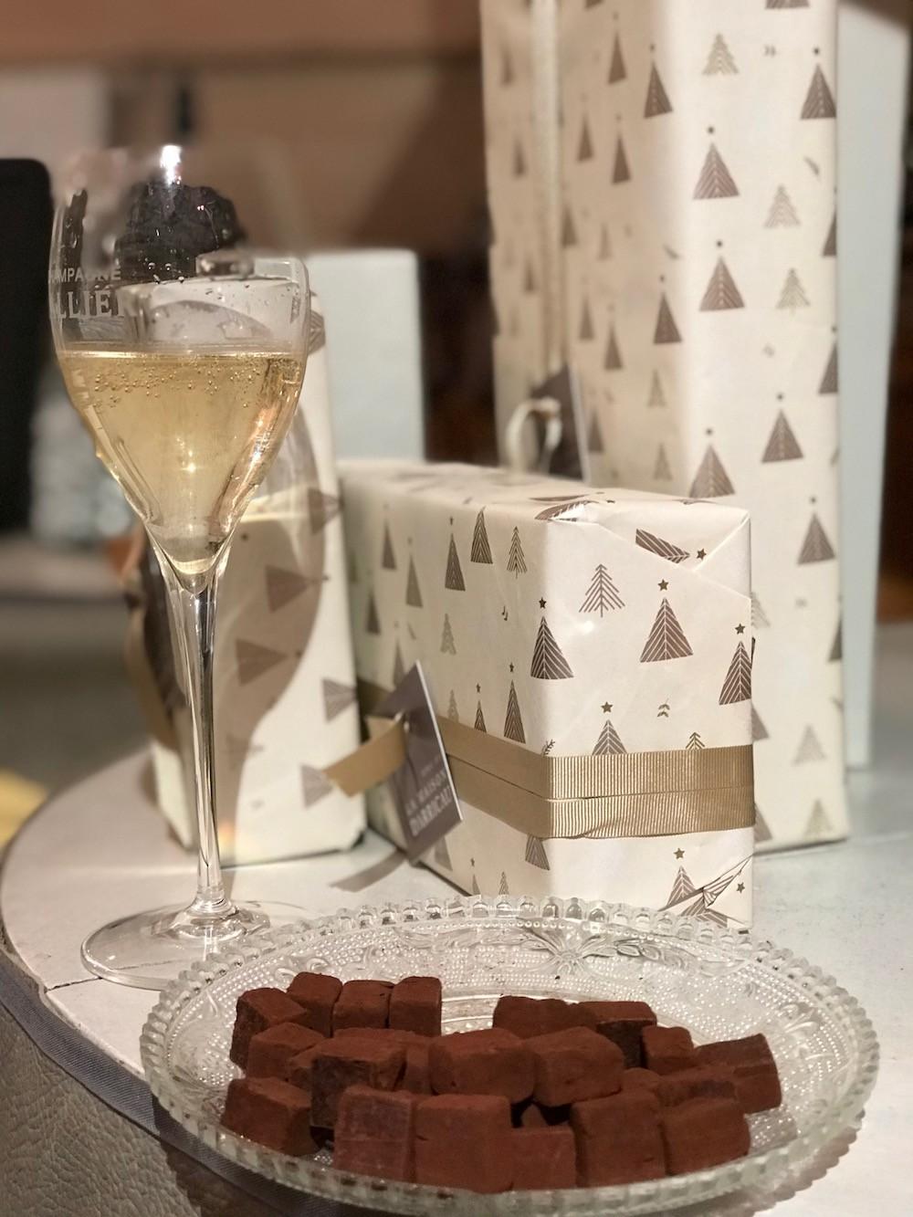 MARIAGE PARFAIT CHOCOLAT CHAMPAGNE