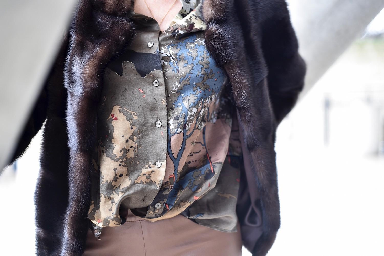 chemise soie Devernois