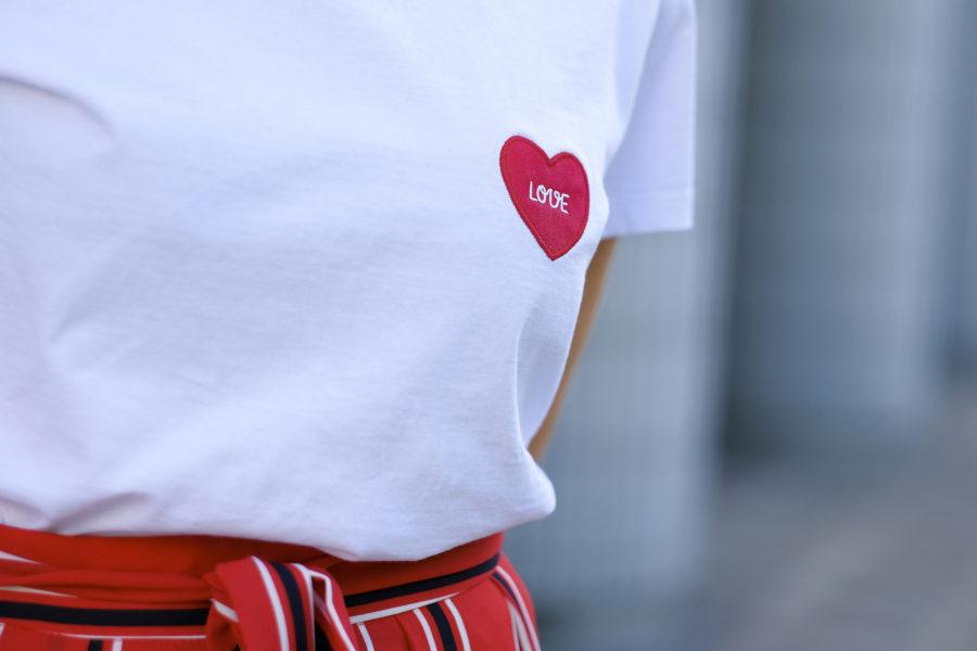 Une longue jupe rouge !