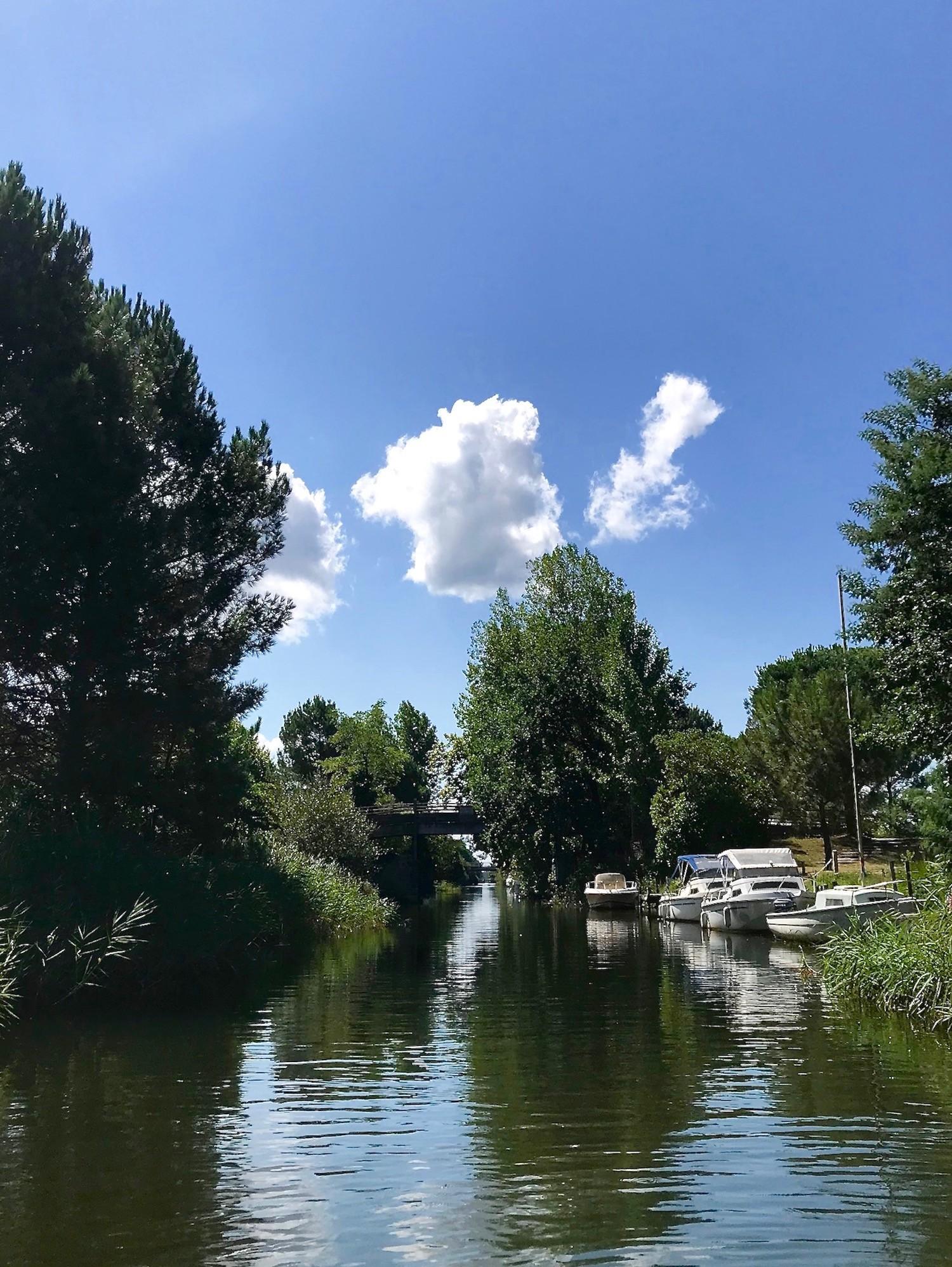 Canal du littoral des landes