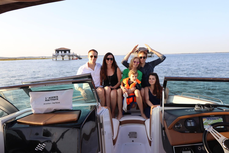 Apéro boat avec l'Agence Nautique