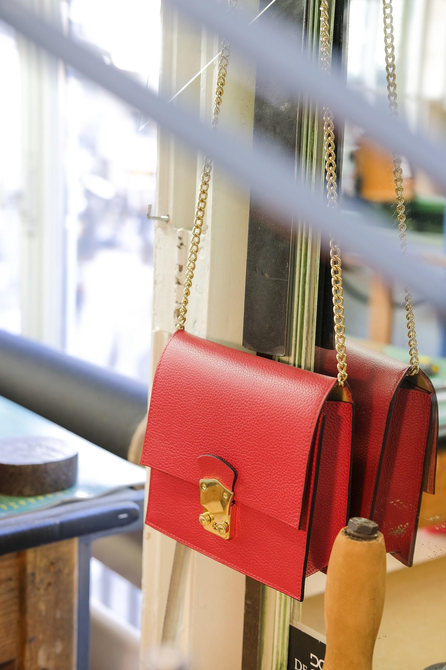 6 étapes pour réaliser un sac de luxe