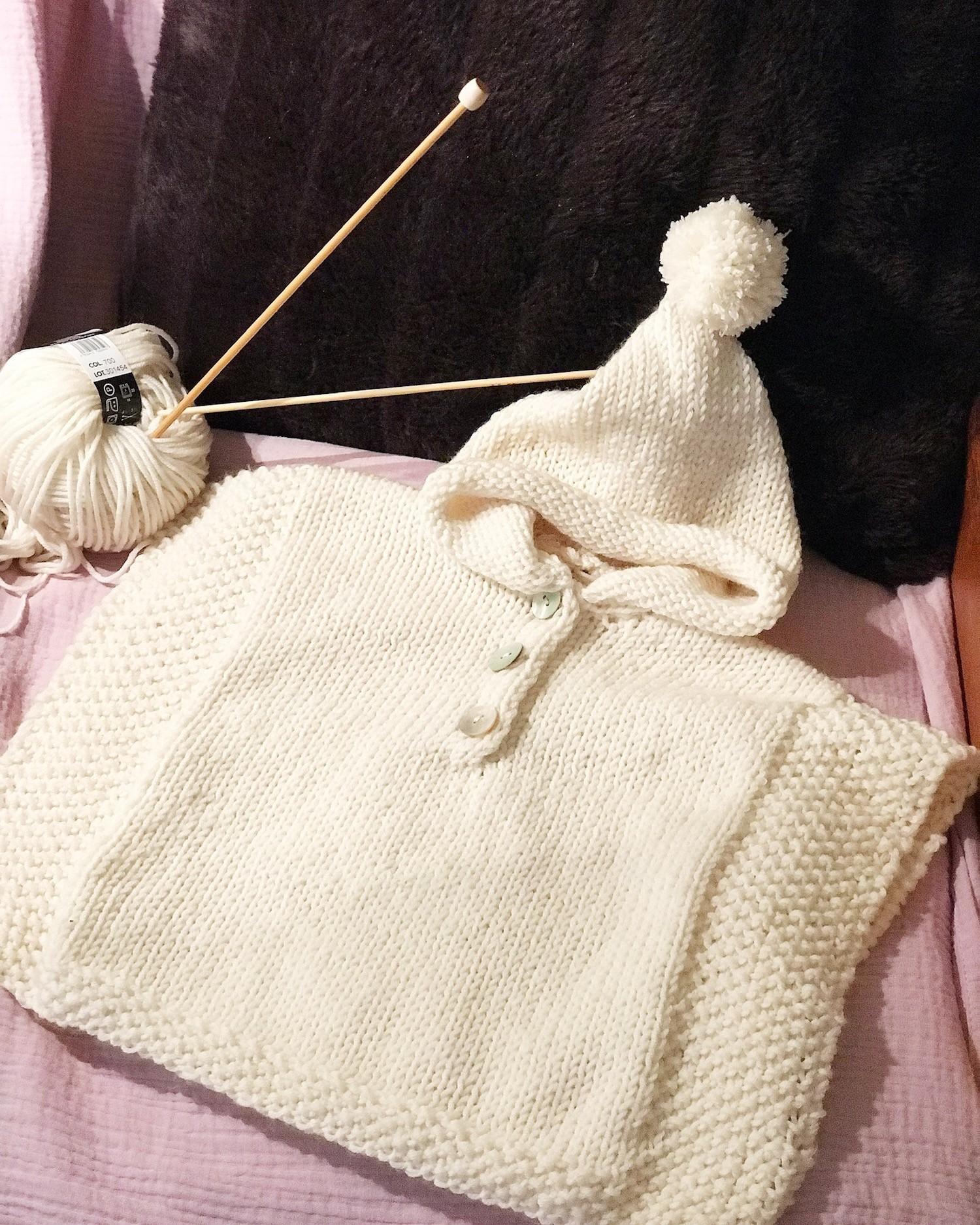 PONCHO BABY DIY SYLVIE ESTRADE