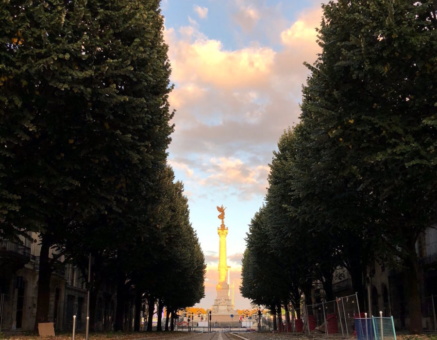Une semaine d'octobre à Bordeaux !