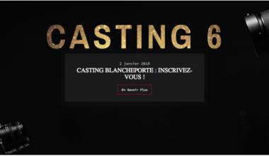 casting 6 Blancheporte