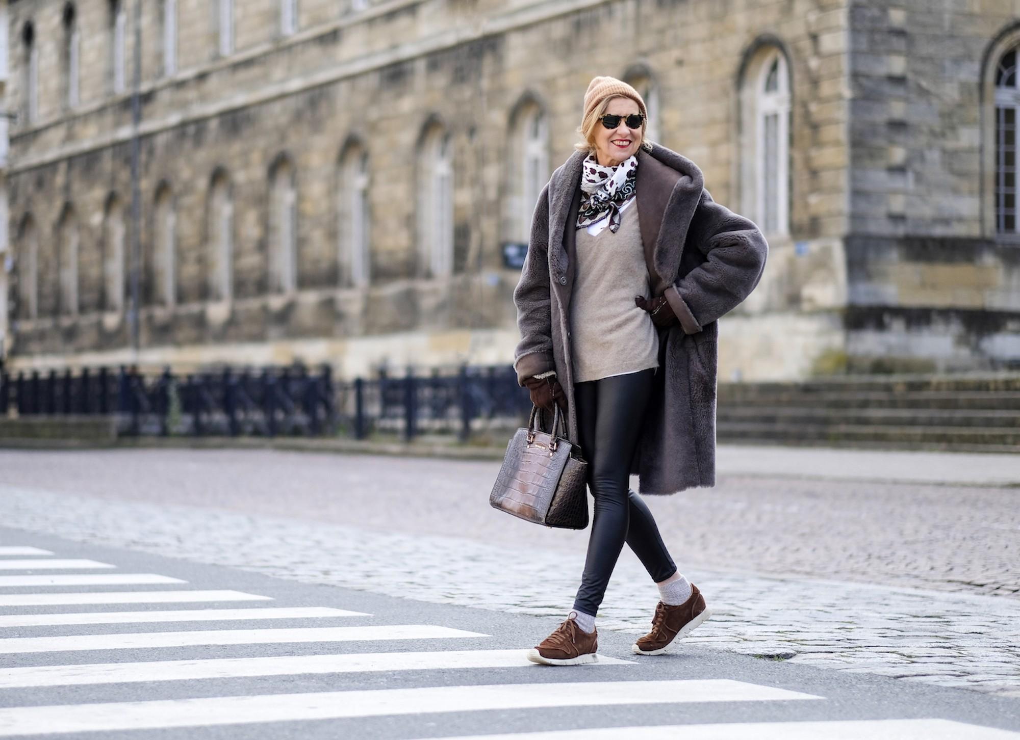 Manteau Vent Couvert