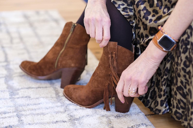 Boots frangés Ash